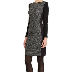 Ralph Lauren Paneled Knit Dress